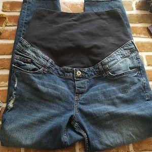 H&M High Rib Maternity Jean- Size 14